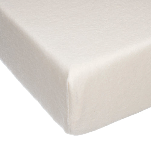 Victoria Fitted Sheet - Cream Softee