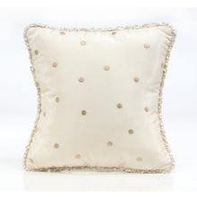 Load image into Gallery viewer, Victoria Pillow - Mocha Dot with Cord - Shop Baby Slings & wraps, Baby Bedding & Home Decor !