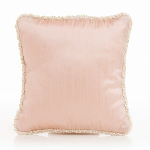 Victoria Pillow - Pink Solid with Cord - Shop Baby Slings & wraps, Baby Bedding & Home Decor !