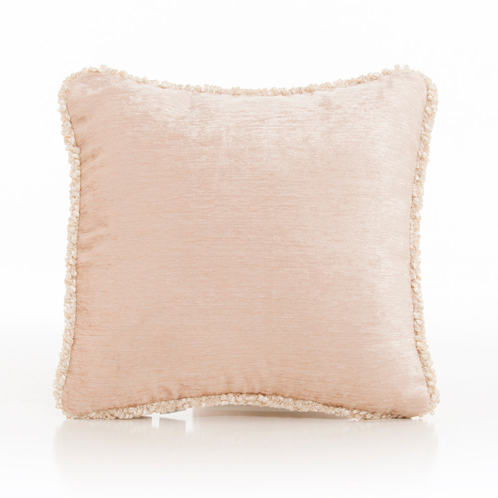 Victoria Pillow - Tan Velvet with Cord - Shop Baby Slings & wraps, Baby Bedding & Home Decor !