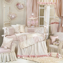 Load image into Gallery viewer, VICTORIA 4 PIECE BABY CRIB BEDDING SET WITH BUMPER - Shop Baby Slings & wraps, Baby Bedding & Home Decor !