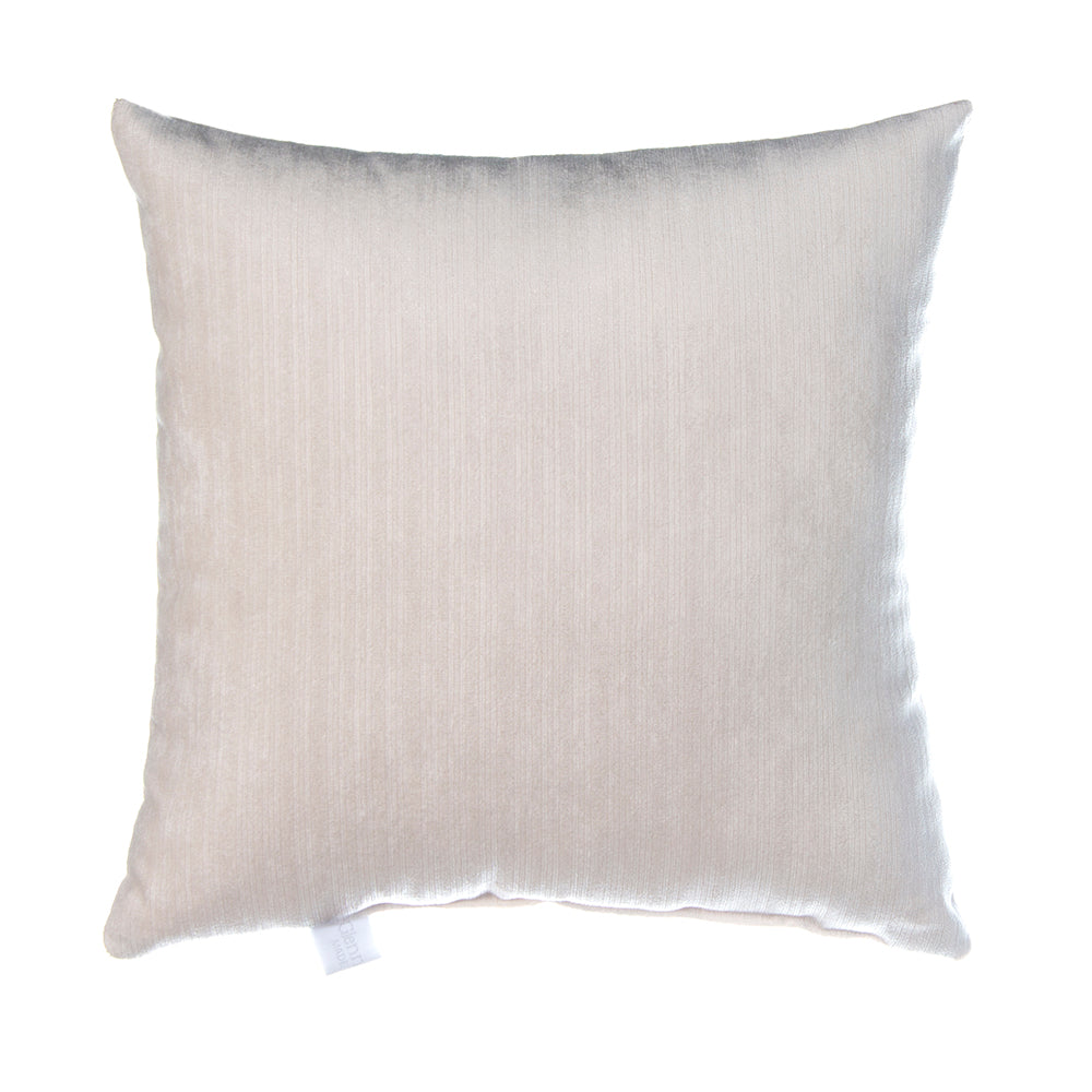 Soho Velvet Throw Pillow in White - Shop Baby Slings & wraps, Baby Bedding & Home Decor !