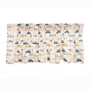 Uptown Traffic Window Valance - Shop Baby Slings & wraps, Baby Bedding & Home Decor !