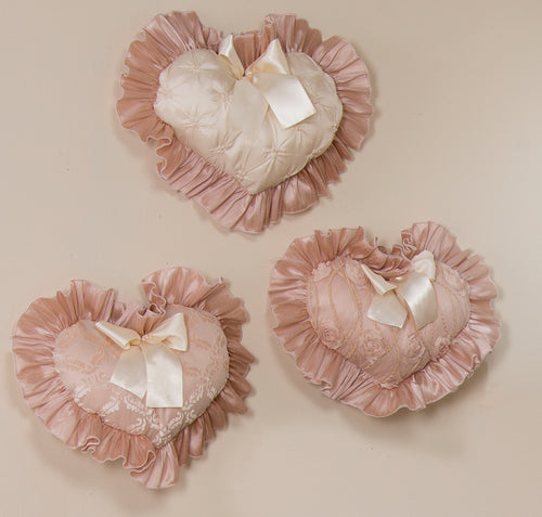 Paris Wall Hanging set of 3 Hearts - Shop Baby Slings & wraps, Baby Bedding & Home Decor !
