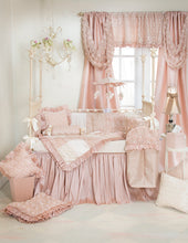 Load image into Gallery viewer, Paris Pillow Pink Strie' with Cord - Shop Baby Slings & wraps, Baby Bedding & Home Decor !