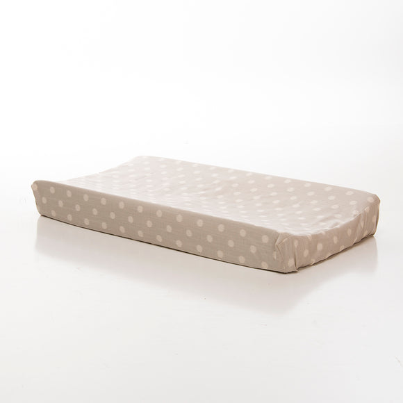 CONTESSA CHANGING PAD COVER (GREY DOT) - Shop Baby Slings & wraps, Baby Bedding & Home Decor !