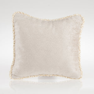 Contessa Pillow - Grey Velvet - Shop Baby Slings & wraps, Baby Bedding & Home Decor !