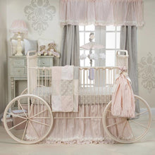 Load image into Gallery viewer, CONTESSA 3PC SET (INCLUDES QUILT, GREY DOT SHEET, CRIB SKIRT) - Shop Baby Slings & wraps, Baby Bedding & Home Decor !