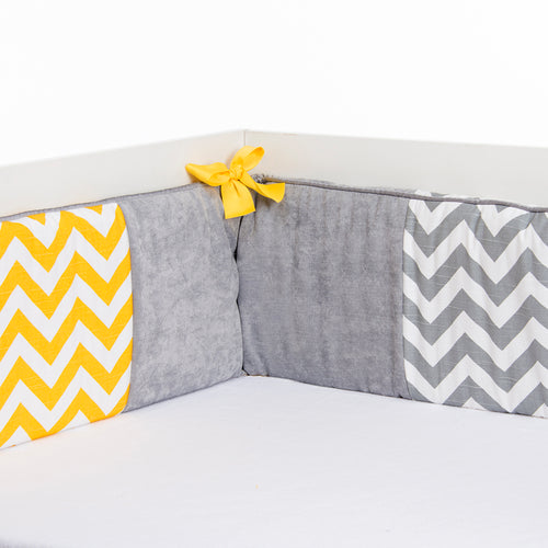 Swizzle Yellow Bumper - Shop Baby Slings & wraps, Baby Bedding & Home Decor !