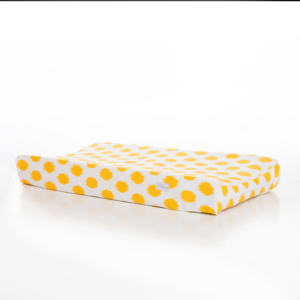 Swizzle Yellow Changing Pad Cover - Shop Baby Slings & wraps, Baby Bedding & Home Decor !