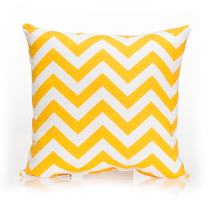 Swizzle Yellow Pillow - Yellow Chevron - Shop Baby Slings & wraps, Baby Bedding & Home Decor !