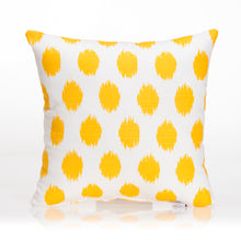 Load image into Gallery viewer, Swizzle Yellow Pillow - Yellow Dot - Shop Baby Slings & wraps, Baby Bedding & Home Decor !