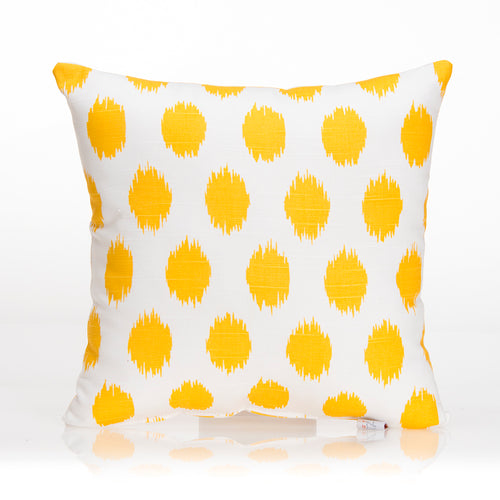 Swizzle Yellow Pillow - Yellow Dot - Shop Baby Slings & wraps, Baby Bedding & Home Decor !