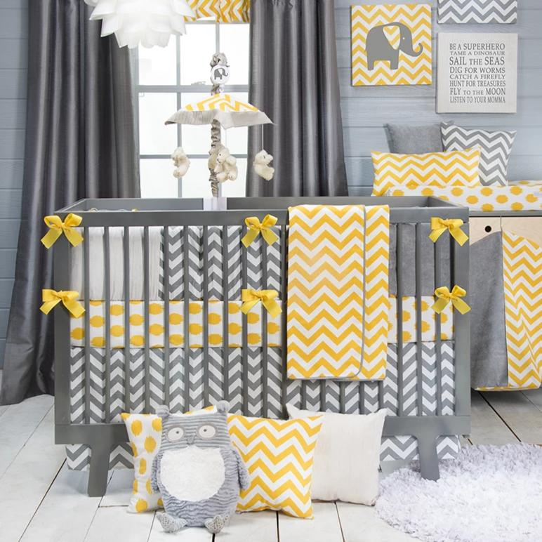SWIZZLE YELLOW 4 PIECE SET - Shop Baby Slings & wraps, Baby Bedding & Home Decor !