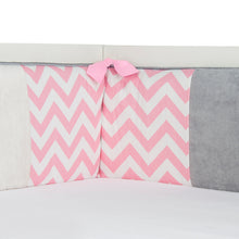 Load image into Gallery viewer, Swizzle Pink Bumper - Shop Baby Slings & wraps, Baby Bedding & Home Decor !