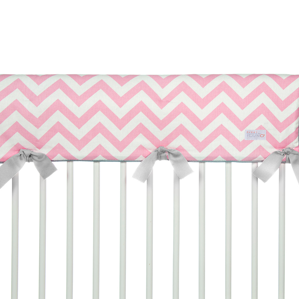 Swizzle Pink Rail Guard - Shop Baby Slings & wraps, Baby Bedding & Home Decor !
