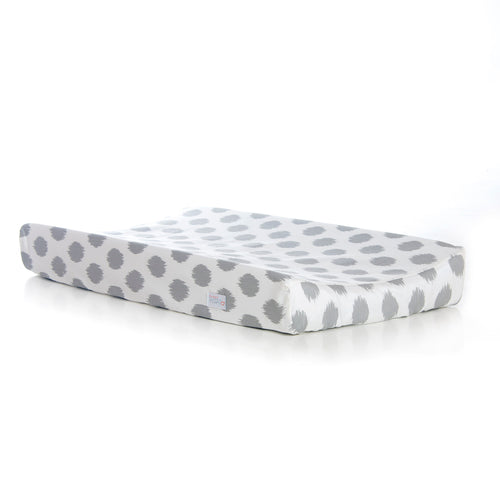 Swizzle Pink Changing Pad Cover (Grey Dot)