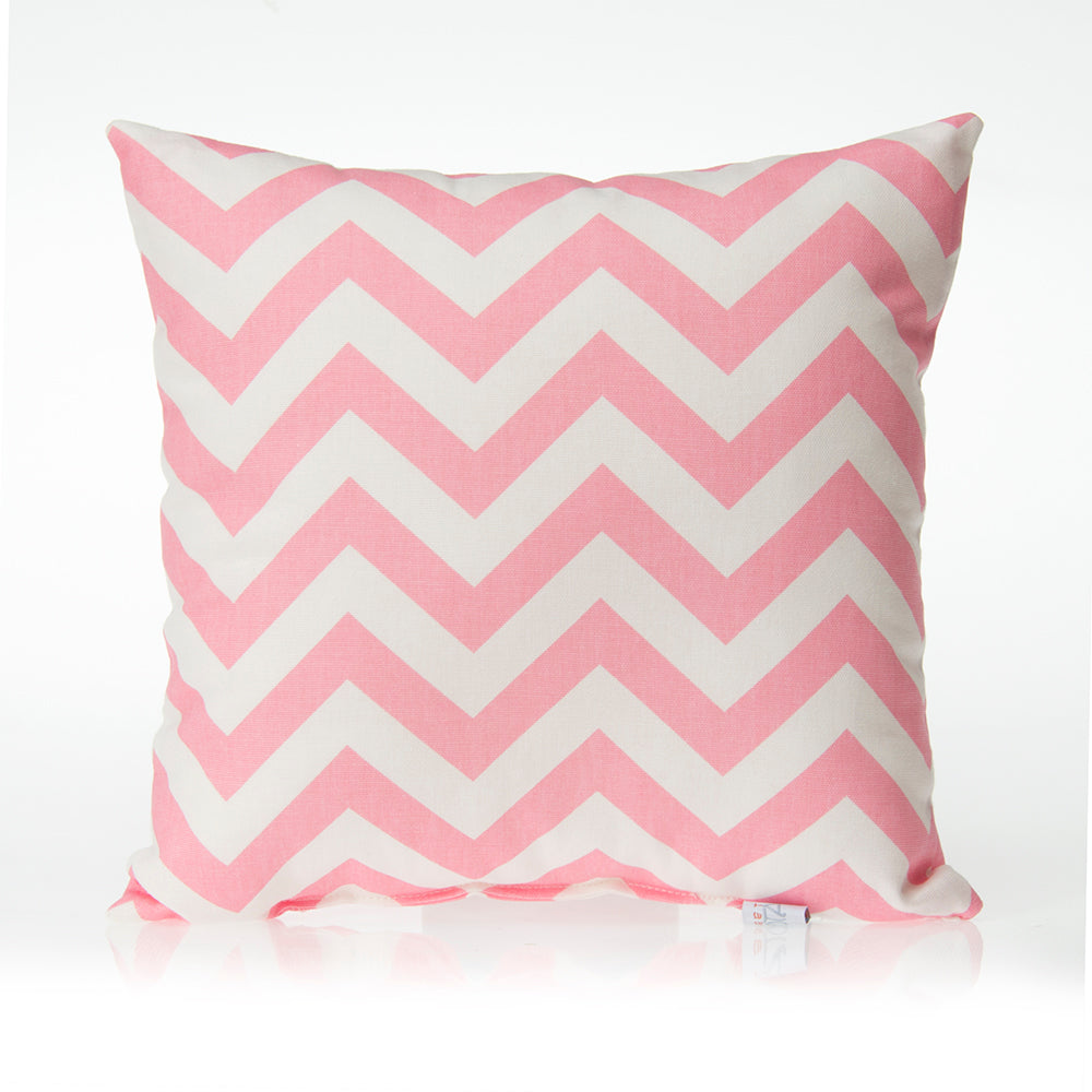 Swizzle Pink Pillow - Pink Chevron - Shop Baby Slings & wraps, Baby Bedding & Home Decor !