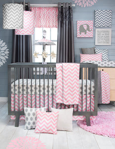 Swizzle Pink Drapery Panels - Shop Baby Slings & wraps, Baby Bedding & Home Decor !