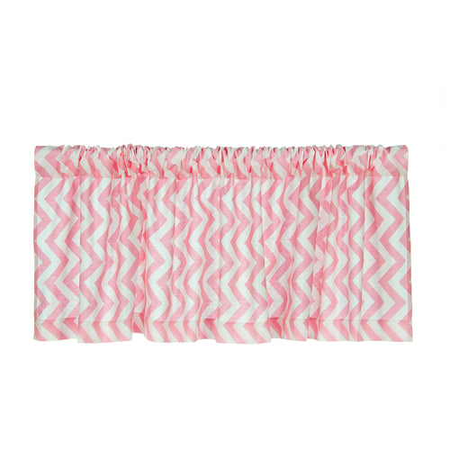 Swizzle Pink Valance Pink Chevron - Shop Baby Slings & wraps, Baby Bedding & Home Decor !