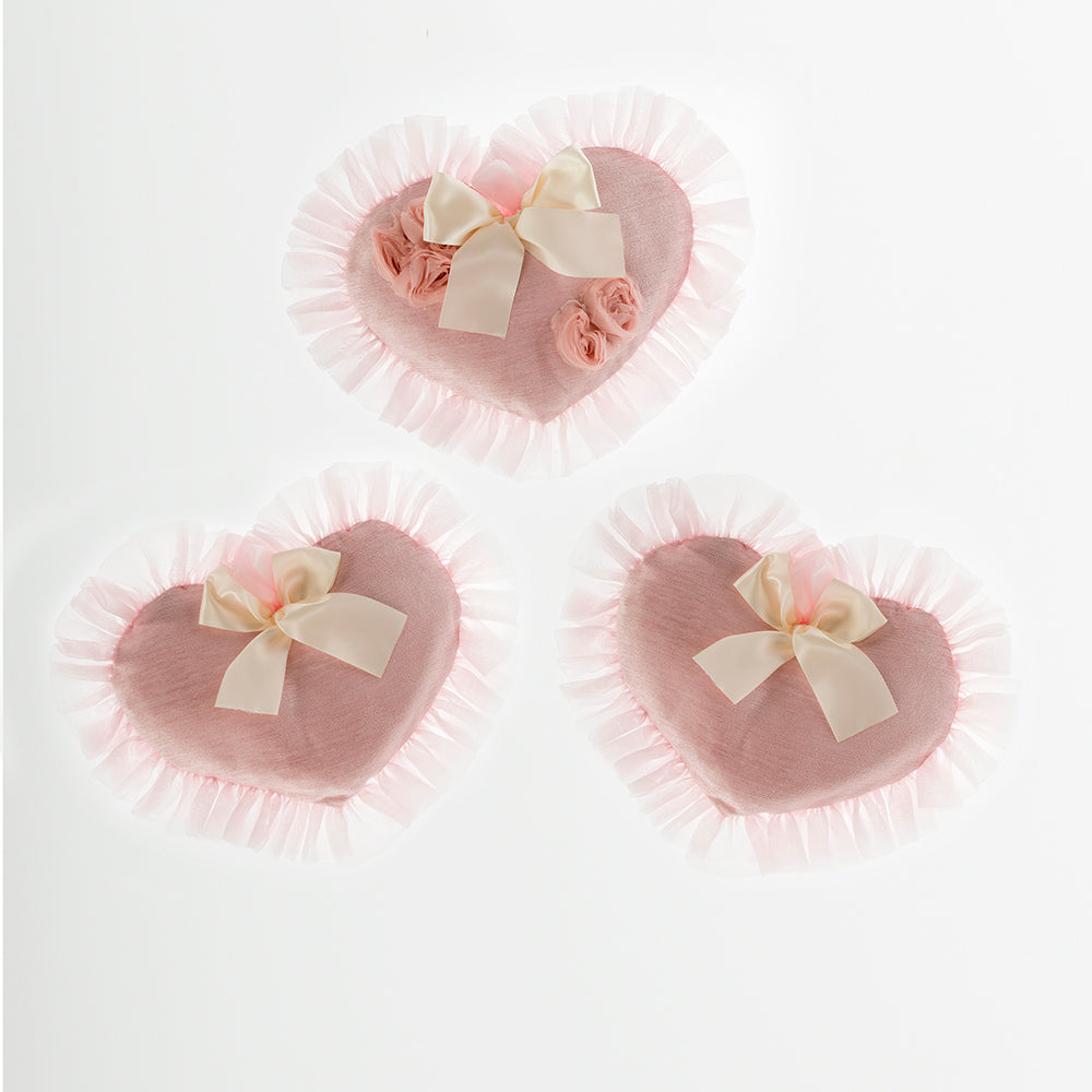 Anastasia Cream Wall Art (Set of 3 Hearts) - Shop Baby Slings & wraps, Baby Bedding & Home Decor !