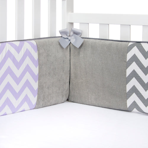 Swizzle Purple Bumper - Shop Baby Slings & wraps, Baby Bedding & Home Decor !