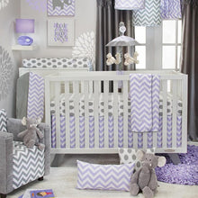 Load image into Gallery viewer, SWIZZLE PURPLE 3 PIECE SET - Shop Baby Slings & wraps, Baby Bedding & Home Decor !