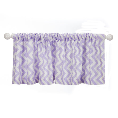Swizzle Purple Valance Purple Chevron - Shop Baby Slings & wraps, Baby Bedding & Home Decor !