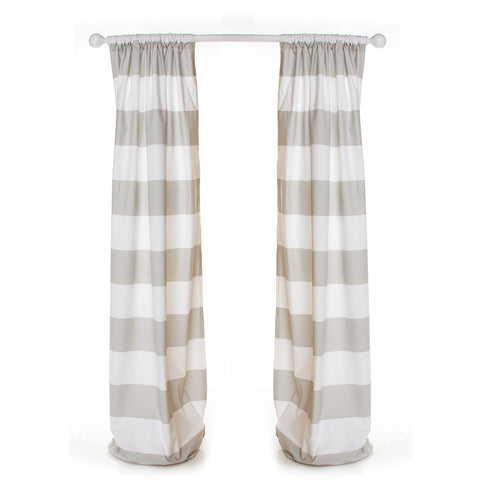Luna Drapery Panels (Vertical Stripe) (Lined) - Shop Baby Slings & wraps, Baby Bedding & Home Decor !
