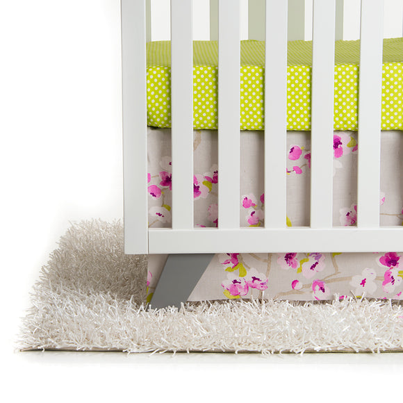 BLOSSOM 2-PIECE CRIB  SET (Includes Fitted Sheet and Dust Ruffle) - Shop Baby Slings & wraps, Baby Bedding & Home Decor !
