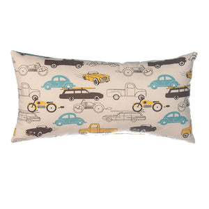 Traffic Jam Rectangle Pillow, Cars - Shop Baby Slings & wraps, Baby Bedding & Home Decor !