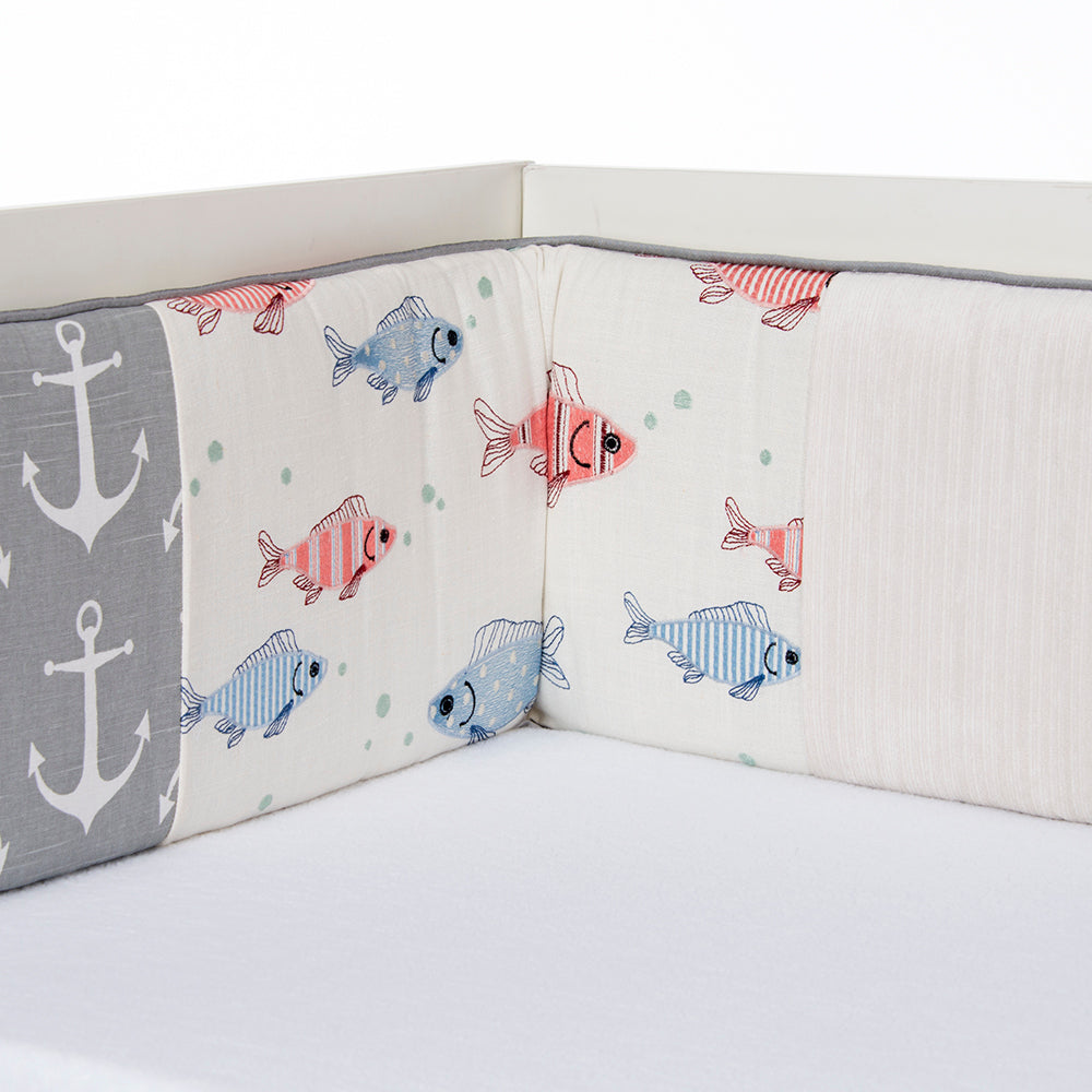 Fish Tales Bumper - Shop Baby Slings & wraps, Baby Bedding & Home Decor !