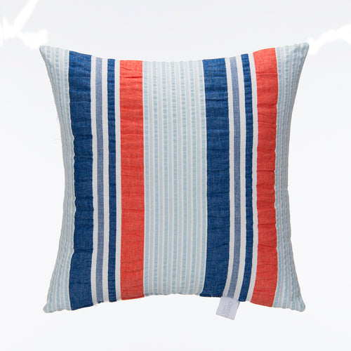 Fish Tales Pillow - Seersucker Stripe - Shop Baby Slings & wraps, Baby Bedding & Home Decor !