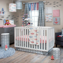 Load image into Gallery viewer, Grey Chevron with Anchor Wall Art - Shop Baby Slings & wraps, Baby Bedding & Home Decor !