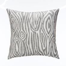 Load image into Gallery viewer, Lil Hoot Pillow - Grey Wood Print - Shop Baby Slings & wraps, Baby Bedding & Home Decor !