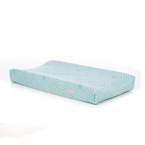 Soho Changing Pad Cover in Aqua - Shop Baby Slings & wraps, Baby Bedding & Home Decor !