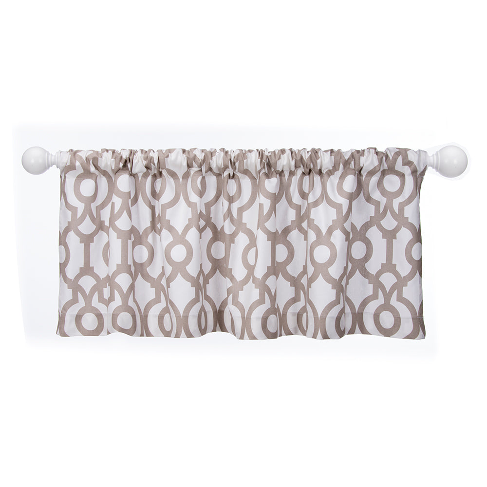 Soho Window Valance - Shop Baby Slings & wraps, Baby Bedding & Home Decor !