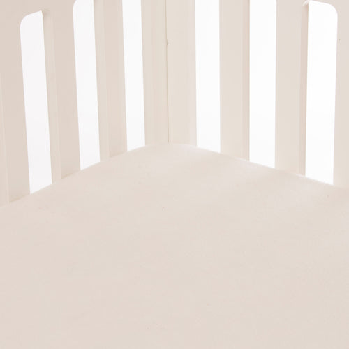 Twiggy  Fitted Sheet - Cream Softee