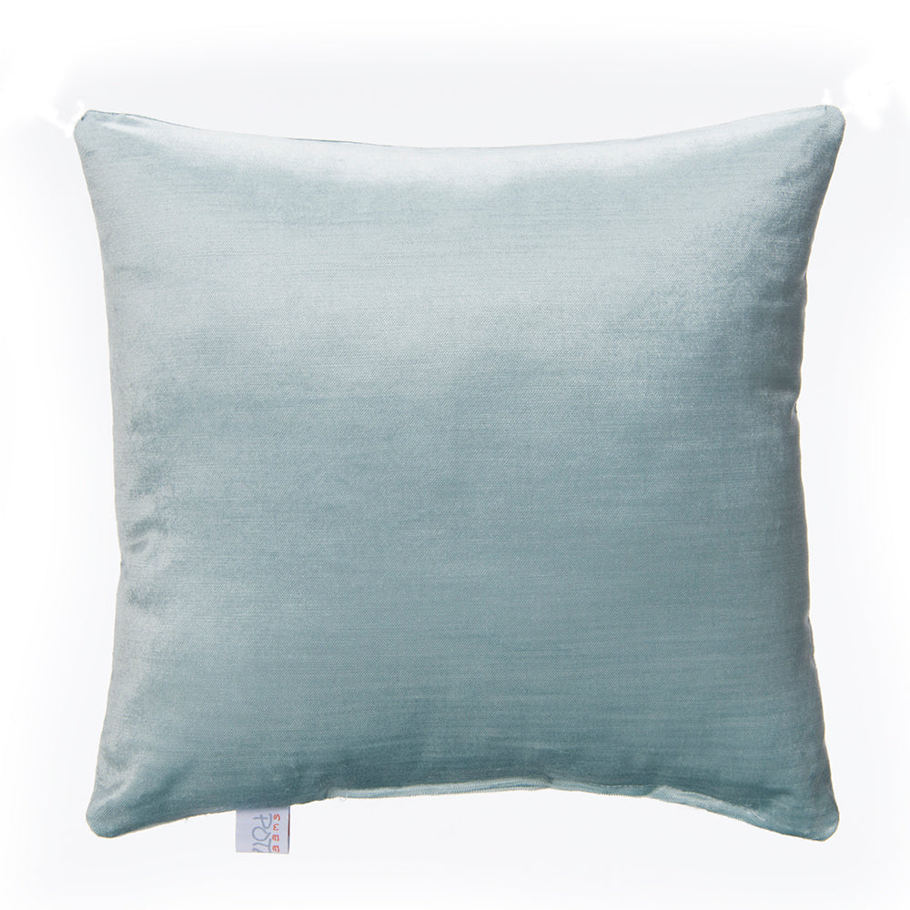 Twiggy Blue Velvet Pillow - Shop Baby Slings & wraps, Baby Bedding & Home Decor !