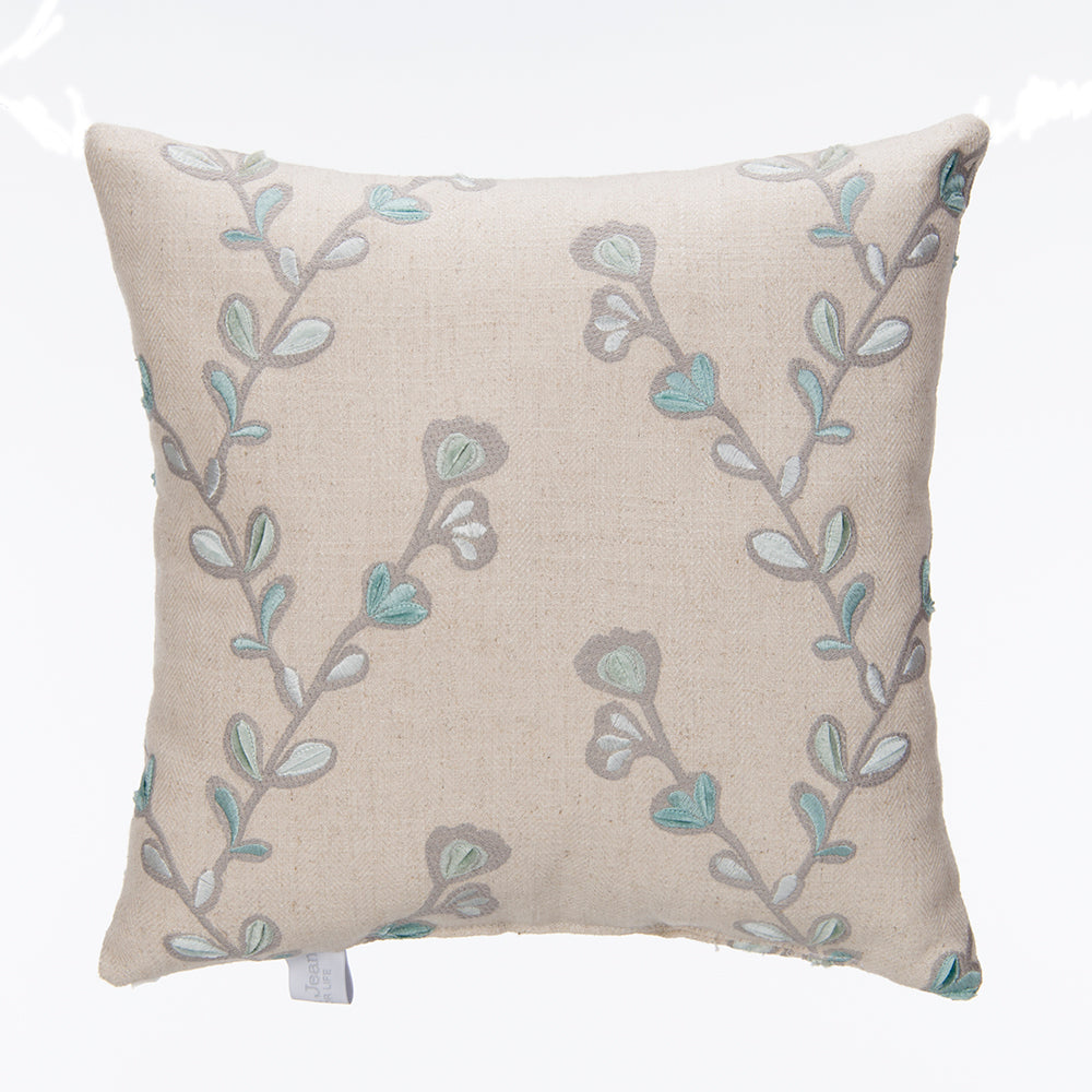 Twiggy Velvet Embroidery Twig Pillow - Shop Baby Slings & wraps, Baby Bedding & Home Decor !