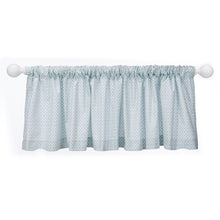 Load image into Gallery viewer, Twiggy Blue Print Valance - Shop Baby Slings & wraps, Baby Bedding & Home Decor !