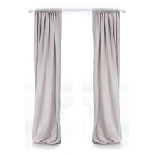 Load image into Gallery viewer, Twiggy Grey Sparkly Velvet Drapes - Shop Baby Slings & wraps, Baby Bedding & Home Decor !