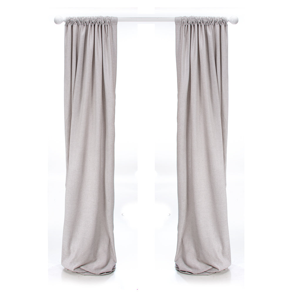 Twiggy Grey Sparkly Velvet Drapes - Shop Baby Slings & wraps, Baby Bedding & Home Decor !
