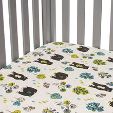 Load image into Gallery viewer, NORTH COUNTRY 2 PIECE SET (INCLUDES BEAR PRINT SHEET, CRIB SKIRT) - Shop Baby Slings & wraps, Baby Bedding & Home Decor !