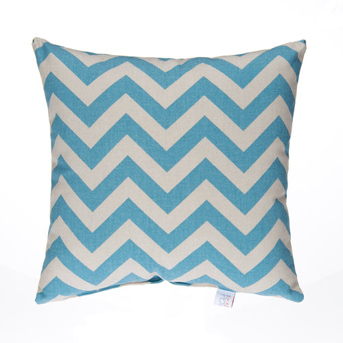 North Country Pillow-Blue/Grey Chevron - Shop Baby Slings & wraps, Baby Bedding & Home Decor !