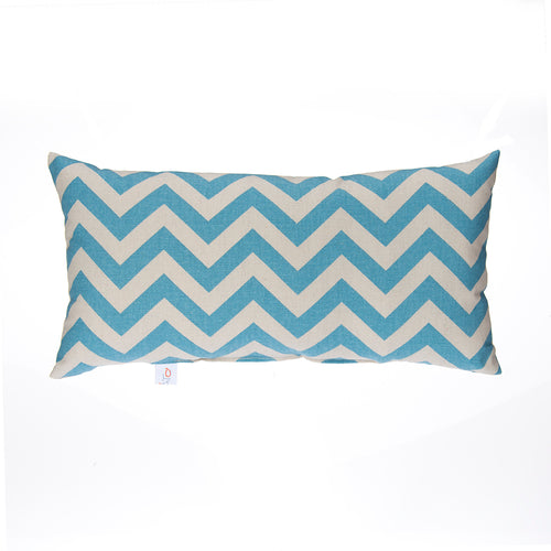 North Country Pillow - Rectangluar Blue/Grey Chevron - Shop Baby Slings & wraps, Baby Bedding & Home Decor !