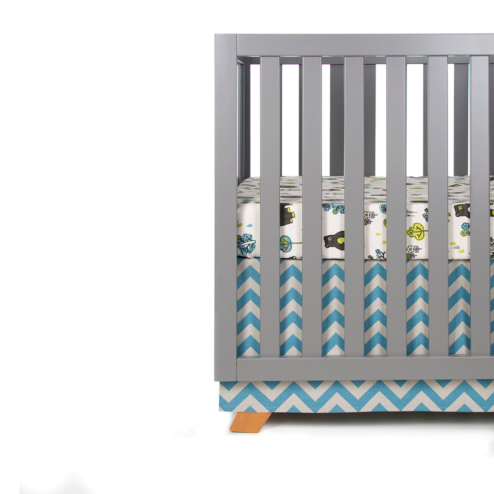 NORTH COUNTRY 2 PIECE SET (INCLUDES BEAR PRINT SHEET, CRIB SKIRT) - Shop Baby Slings & wraps, Baby Bedding & Home Decor !