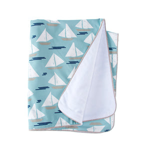 LITTLE SAIL BOAT 4PC SET (INCLUDES QUILT, BUMPER, SHEET, CRIB SKIRT) - Shop Baby Slings & wraps, Baby Bedding & Home Decor !