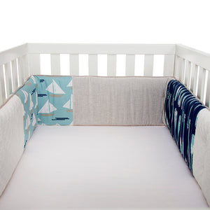 Little Sail Boat Bumper - Shop Baby Slings & wraps, Baby Bedding & Home Decor !