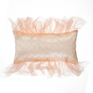 Remember My Love Pillow- Rectangle - Reversible Pink/Cream Pintuck - Shop Baby Slings & wraps, Baby Bedding & Home Decor !